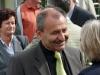Vorne plaudert Mustafa Dönmez vom Umweltministerium mit PAN-Sprecherin Carola Biehal.