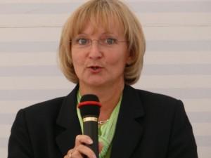 Sprecherin des Projektbeirats und Vorsitzende des Altlastenvereins, Carola Biehal