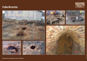 Schautafel: Fabrikreste und alte Kan�le