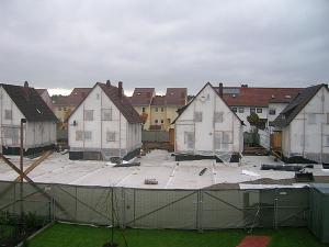 Ein Bild aus dem zweiten Sanierungsabschnitt - Ulmenweg-Grundstücke.